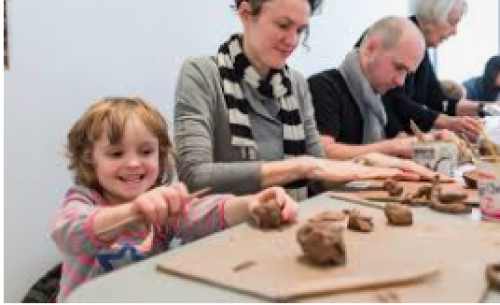 Clay + Crafts: Family Day Holiday Special-event-photo