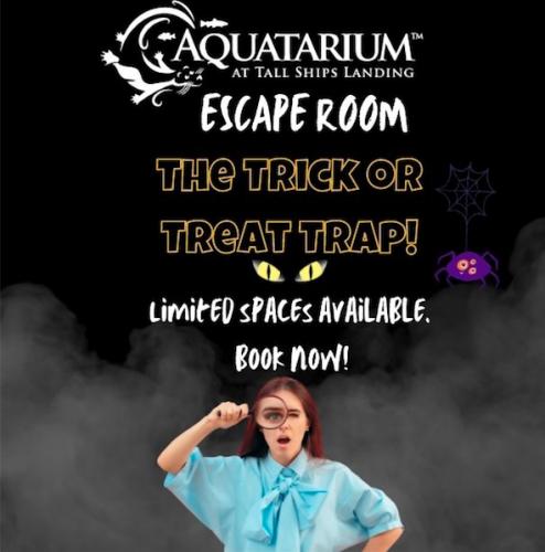 Trick or Treat Trap Escape Room at Aquatarium-event-photo