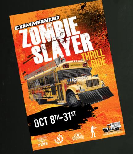 Zombie Slayer Thrill Ride-event-photo
