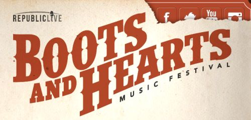 Boots and Hearts Canadian Country Music Festival