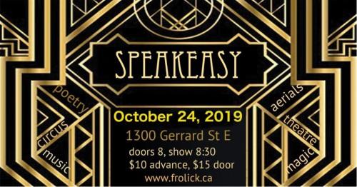 Speakeasy #4 at The Redwood-event-photo