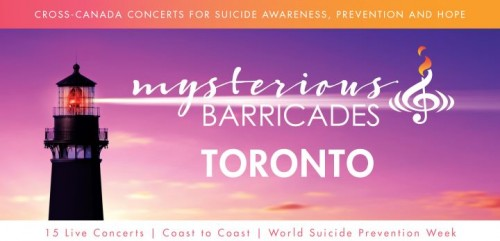 Mysterious Barricades Concert for Suicide Awareness-event-photo