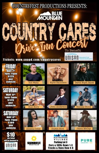 Country Cares Drive-In Concert