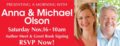 A Morning with Anna and Michael Olson-event-photo