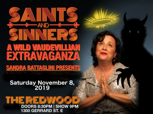 Saints and Sinners - A Wild Vaudevillian Extravaganza!