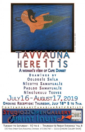 Tavvauna / Here It Is - Drawings from Cape Dorset-event-photo