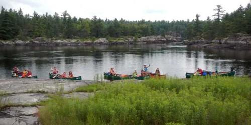 Haliburton Highlands Family Canoe Trip