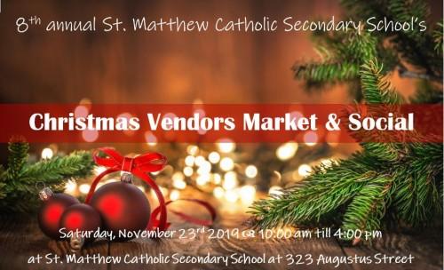 Christmas Vendors Market & Social -event-photo