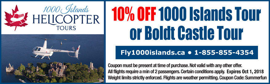 1000 Islands Helicopter Tours - 10% OFF