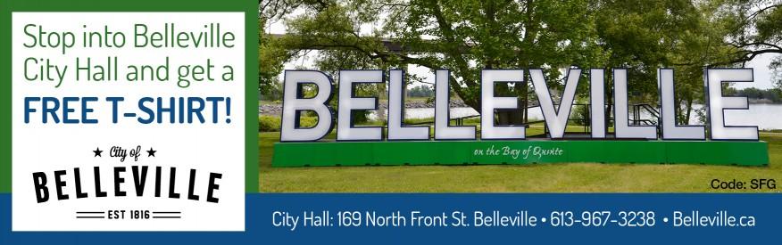 Belleville - Free t shirt