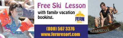 Fern Resort Coupon - Free ski lesson