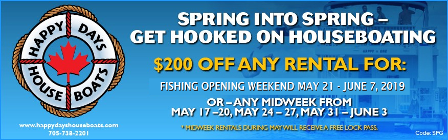 Happy Days Houseboats - $200 OFF!