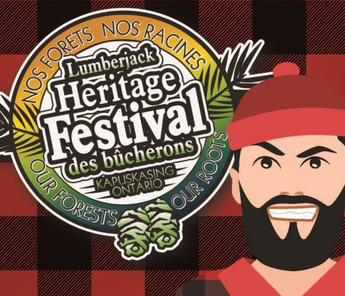 Kapuskasing Lumberjack Festival -July 26-28, 2019 in Kapuskasing - Festivals, Fairs & Events in NORTHERN ONTARIO Summer Fun Guide