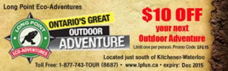 Long Point Eco-Adventures coupon - $10 OFF