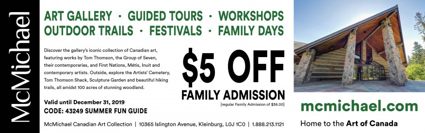 McMichael - $5 OFF Family Admission