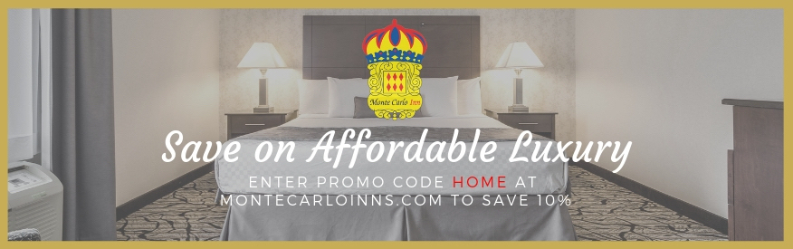 Monte Carlo Inns coupon - 10% OFF