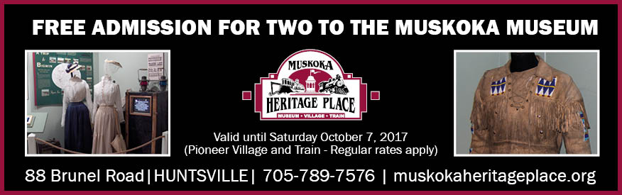 Muskoka Heritage Place Coupon - Free admission for 2
