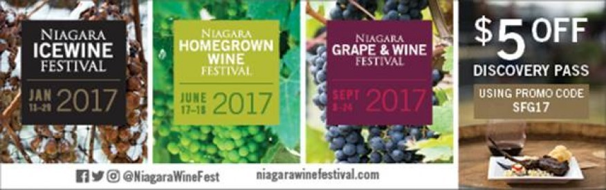Niagara Grape and Wine Festivals - $5 OFF