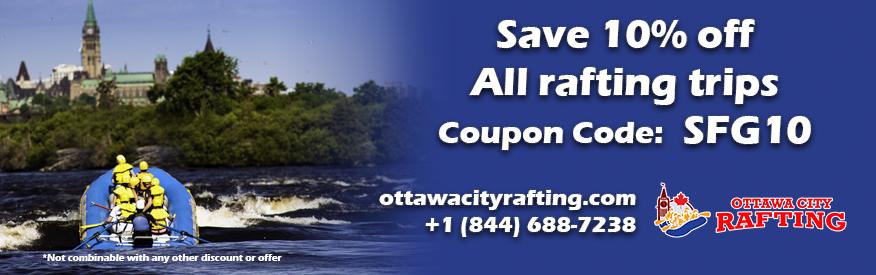 Ottawa City Rafting - SAVE 10%