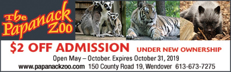Papanack Zoo Coupon - $2 off admission