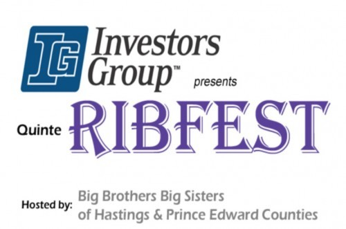 Big Brothers Big Sisters Quinte RibFest - Aug. 11-13, 2017