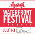 Redpath Waterfront Festival presented by Billy Bishop Airport July 1-3, 2017