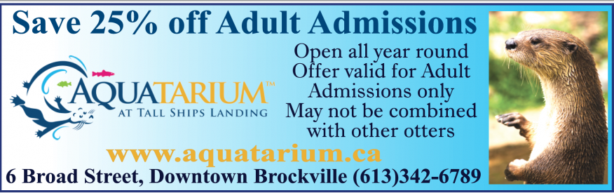Aquatarium - Save 25% off Adult Admission