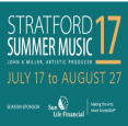 Stratford Summer Music- July 17-Aug 27, 2017