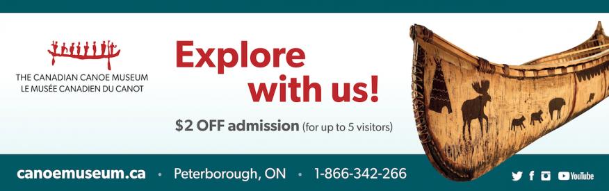 Canadian Canoe Museum -$2.00 Off