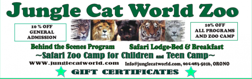 Jungle Cat World Coupon - 10% off admission