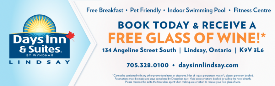 Book Today - Free Glass of Wine