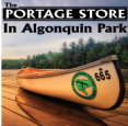Algonquin Park's The Portage Store in KM14 Canoe Lake - Algonquin Provincial Park, Hunts - Outdoor Adventures in  Summer Fun Guide