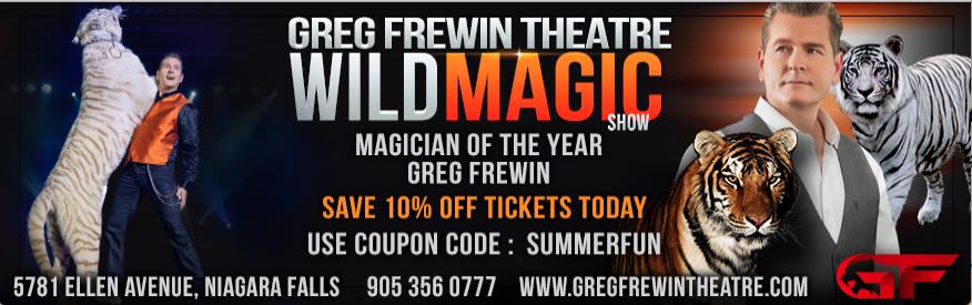 Greg Frewin Coupon - 10% off