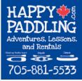 HappyPaddling -Open June-September in Barrie - Outdoor Adventures in  Summer Fun Guide