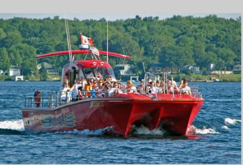 1000 Islands & Seaway Cruises - Brockville in  Brockville - (near Gananoque, Kingston, Rockport) - Boat & Train Excursions in  Summer Fun Guide