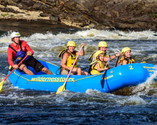 Wilderness Tours Rafting and Kayaking Resort in Foresters Falls - Outdoor Adventures in OTTAWA REGION Summer Fun Guide