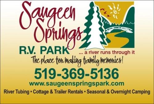 Saugeen Springs R.V. Park & River Tubing