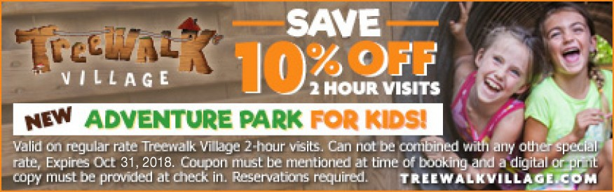 Treewalk Village Coupon - 10% off