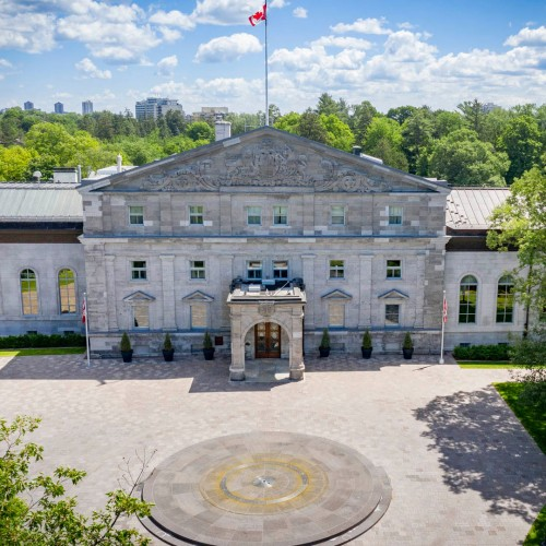 Rideau Hall in Ottawa - Attractions in  Summer Fun Guide