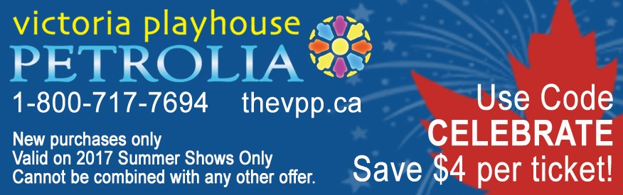 Victoria Playhouse Petrolia - Save $4