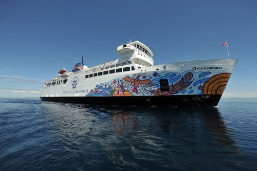 Chi-Cheemaun Ferry (Owen Sound Transportation Co) in Tobermory - Boat & Train Excursions in  Summer Fun Guide