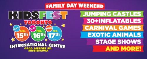 KidsFest -February 15-17, 2020 in Toronto - Festivals, Fairs & Events in  Summer Fun Guide