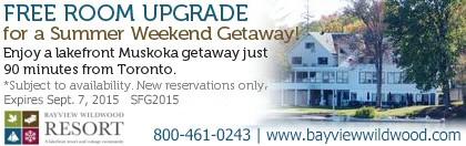 Bayview Wildwood Coupon - Free room upgrade