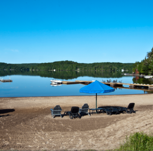 Blue Water Acres-Lakeside Cottages in Huntsville - Accommodations, Resorts & Spas in CENTRAL ONTARIO Summer Fun Guide