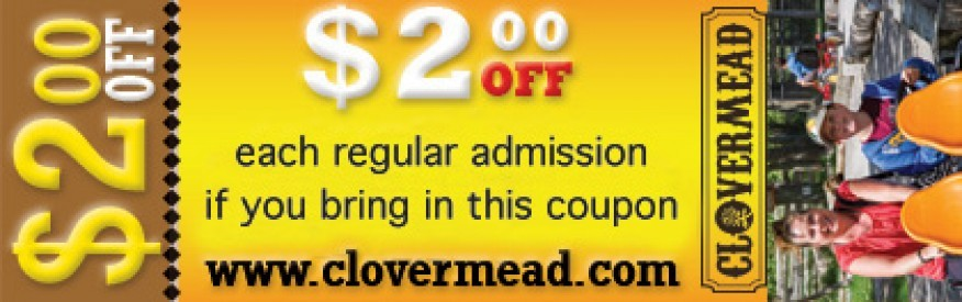 Clovermead Coupon- $2 off