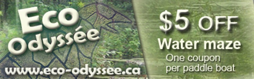 Eco Odyssee coupon - $5 OFF Water Maze