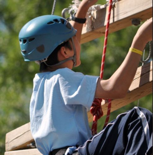 Eyer Homestead Ropes Challenge Course
