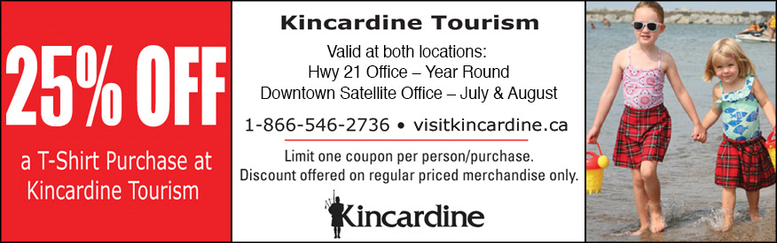 Kincardine tourism- 25% OFF T-Shirt
