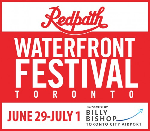 Redpath Waterfront Festival presented by Billy Bishop Airport   in Toronto - Festivals, Fairs & Events in  Summer Fun Guide
