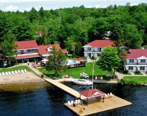Severn Lodge in Port Severn - Accommodations, Resorts & Spas in CENTRAL ONTARIO Summer Fun Guide